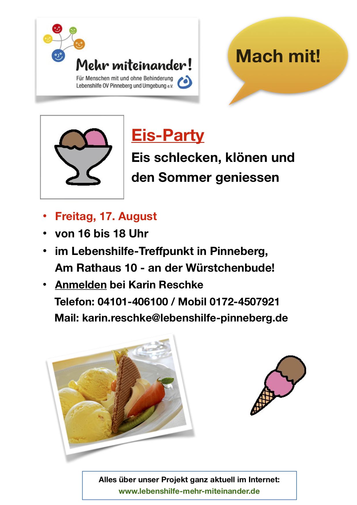Eis Party, 17.8.2018